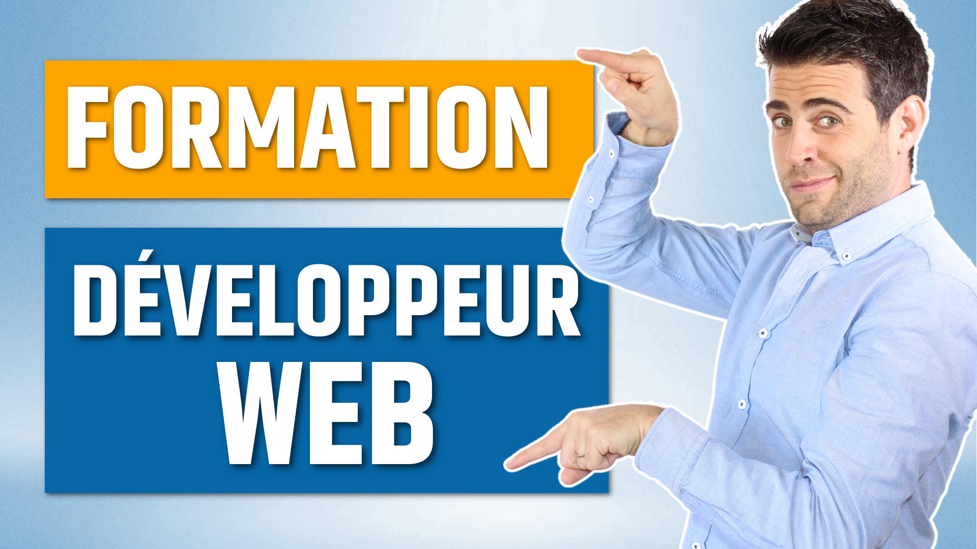 formation a distance developpeur web