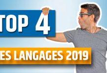 Top 4 des meilleurs langages 2019